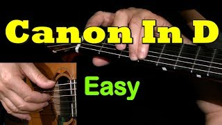 Download CANON In D by PACHELBEL: Easy Guitar Lesson + TAB by GuitarNick Video