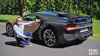 Download My First Drive in a BUGATTI CHIRON! Video
