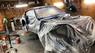 Download Unveiling The 240z Wrap Color, Undercoating The Body, And Engine Work!! Video