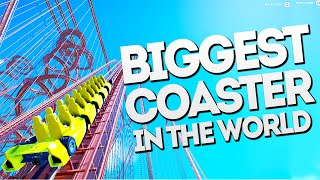 Download THE BIGGEST COASTER IN THE WORLD!! Planet Coaster Gameplay Video