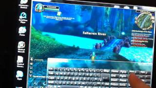 Download World of Warcraft playing on iPad No fake Video