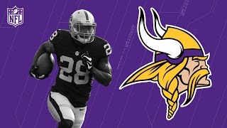 Download Latavius Murray Welcome to the Minnesota Vikings! | NFL | Free Agent Highlights Video