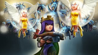 Download Clash Of Clans | TH9 60 MINION QUEEN WALK 3 STAR | MUST SEE!! Video