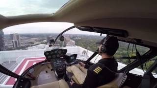 Download Flying R66 To A New Helipad in Atlanta (Colony Square) Video