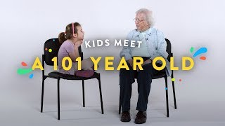 Download Kids Meet a 101 Year Old | Kids Meet | HiHo Kids Video