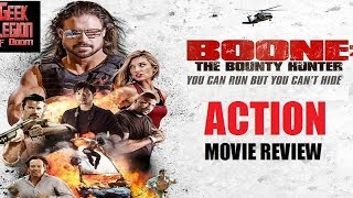 Download BOONE : THE BOUNTY HUNTER ( 2017 John Hennigan ) Action Movie Review Video
