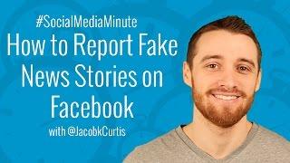 Download [HD] How to Report Fake News Feed Stories and Hoaxes on Facebook - #SocialMediaMinute Video