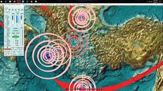 Download 2/22/2018 - Earthquake forecast example - Pressure transfers through planet hits Sea of Okhotsk Video