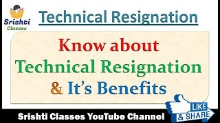 Download Technical Resignation | Benefits of Technical Resignation | Technical Resignation Joining Time Video
