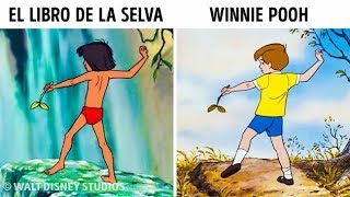 Download 14 Veces en la que Disney utilizó las mismas ilustraciones en diferentes dibujos animados Video
