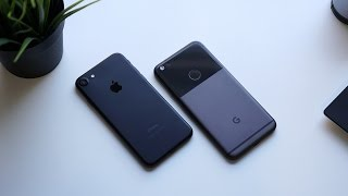 Download Google Pixel vs iPhone 7: Battle of more than just Digital Assistants Video