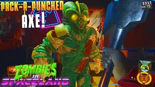 Download PACK-A-PUNCHED AXE! (Infinite Warfare Zombies In Spaceland Funny Moments) Fails! - MatMicMar Video