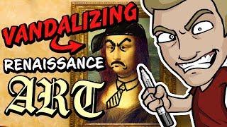 Download VANDALIZING RENAISSANCE ART!? - Timeless Masterpieces violently violated! Video