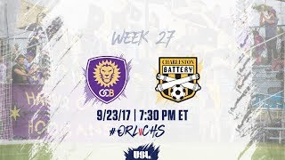 Download USL LIVE - Orlando City B vs Charleston Battery 9/23/17 Video