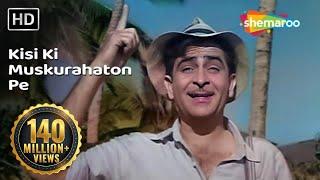 Download Kisi Ki Muskurahaton Pe Ho Nisar | Raj Kapoor | Anari | Mukesh | Evergreen Hindi Songs HD Video