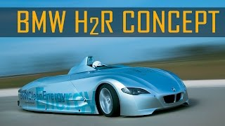 Download BMW H2R Hydrogen Race Car Record Run in Miramas, France (2004) Video