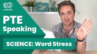 Download PTE Speaking SCIENCE: Word Stress! #E2Tasks with Jay! Video