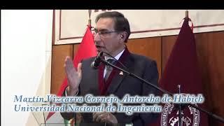 Download Lo que dijo Martín Vizcarra a agradecer por Antorcha de Habich de la UNI Video