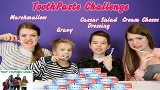 Download Toothpaste Challenge Video