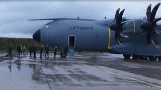 Download Ankunft des ersten A400M in Deutschland - Bundeswehr Video