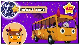 Download Wheels On The Bus - Halloween Special + More! | Little Baby Boogie | LBB | Nursery Rhymes Video