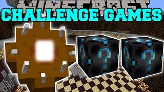 Download Minecraft: GIANT WORM CHALLENGE GAMES - Lucky Block Mod - Modded Mini-Game Video