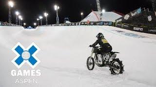 Download Harley-Davidson Snow Hill Climb: FULL BROADCAST | X Games Aspen 2018 Video