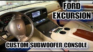 Download Ford Excursion Center Console Subwoofer Enclosure Build Walkthrough Video