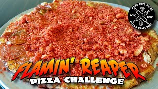 Download Flamin' Reaper Pizza Challenge *CAROLINA REAPER PIZZA* │ Challenge Accepted Video