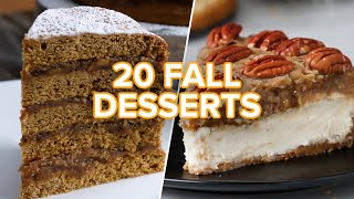Download 20 Tasty Fall Desserts Video