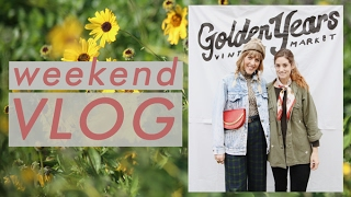 Download Weekend VLOG at Golden Years Vintage Market + Quitting Capsule Wardrobes? Video