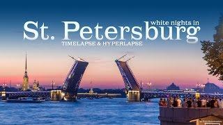 Download White nights in Saint Petersburg. Timelapse & Hyperlapse. Белые ночи в Санкт-Петербурге Video