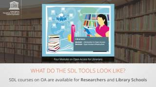 Download Launch of Self-Directed Learning Courses (SDLs) on Open Access to Scholarly Information Video