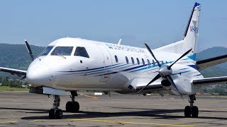 Download Flying Wollongong's new airline to Melbourne - Fly Corporate Saab 340! (WOL-MEB) Video