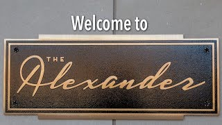 Download The Alexander is a new apartment building in Philadelphia with skyline views and an indoor pool Video