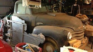 Download Texas Barn Find Survivor 1953 Chevy Truck 40+ Years! Video