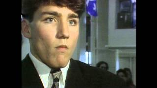 Download An 18 Year-Old Justin Trudeau on Quebec Sovereignty Video