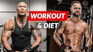 Download The Rock Workout & Diet Challenge | The Rock Daily Routine, Hercules diet and training Video