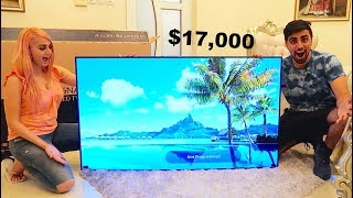 Download MY NEW $17,000 LG SIGNATURE OLED TV W !!! Video