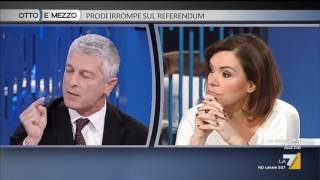 Download Otto e mezzo - Prodi irrompe sul Referendum (Puntata 30/11/2016) Video