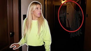 Download 24 Hours in a Haunted Hotel! We Found a REAL GHOST at 3am Video