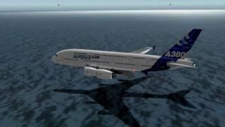 Download Airbus A380 Water Landing Video