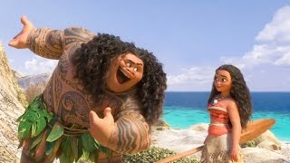 Download Moana - You're Welcome - Dwayne Johnson Sings! | official FIRST LOOK clip (2016) Disney Animation Video