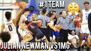Download Julian Newman vs #1 Team IMG! THE REMATCH! 97-37! Josh Green GOES CRAZY on Senior Night! Video