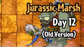 Download Plants vs Zombies 2 - Jurassic Marsh Day 12 (Old Version): Jurassic Gargantuar Video
