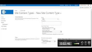 Download Creating content type and attaching multiple content types to sharepoint 2013 list Video