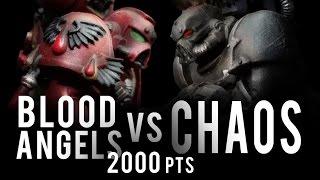 Download NEW Blood Angels vs NEW Chaos Warhammer 40K Battle Report - Banter Batrep Ep 156 Video