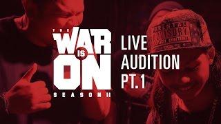 Download TWIO2 : LIVE AUDITION PT.1 | RAP IS NOW Video