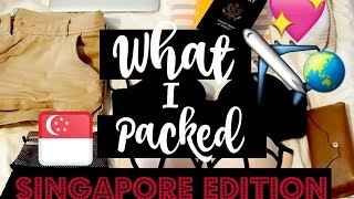 Download MINIMALIST PACKING | What I Packed for 1 Week in Singapore Video