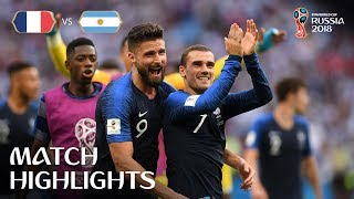 Download France v Argentina - 2018 FIFA World Cup Russia™ - Match 50 Video